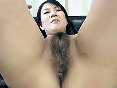 Two slut Asians and one dildo